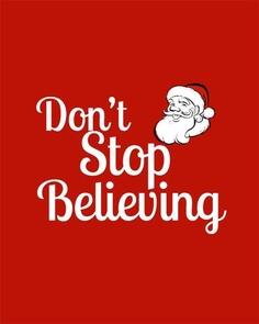 santa don't stop